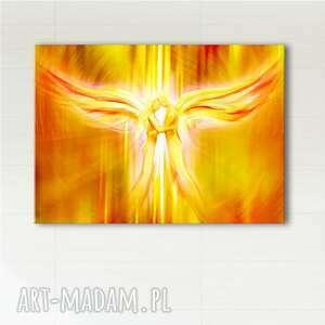 obraz energetyzujący - anioły miłości wydruk na płótnie