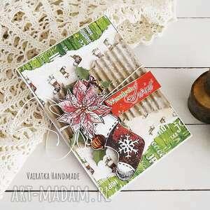 ręcznie robione pomysł na świąteczne prezenty kartka świąteczna, 515