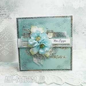 Prezent Moc Życzeń- kartka z pudełkiem, urodzinowy-prezent, imieniny