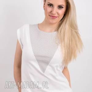 t-shirt - koszulka lonely shape grey, rozmiar m, biała, koszulka, t shirt