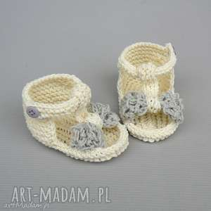sandałki malaga, buciki, sandałki, letnie, miękkie, niemowlęce, prezent, świąteczny