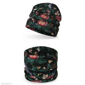 hand-made komplet dziecięcy komin czapka