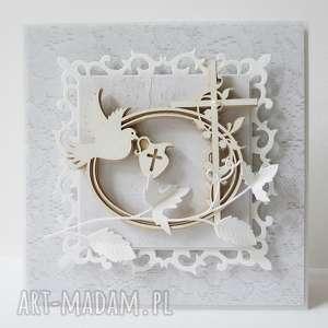 Chrzest w bieli, życzenia, pamiątka