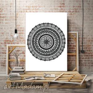 Mandala 50x70cm, mandala, design, plakat, rysunek, wnętrze