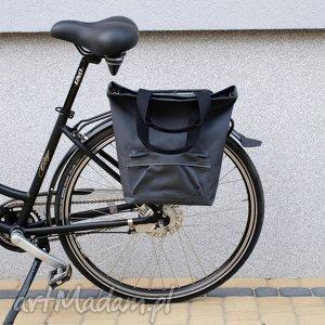 Prezent Torba rowerowa San Marino grafit, rower, torba, praca, zakupy, prezent