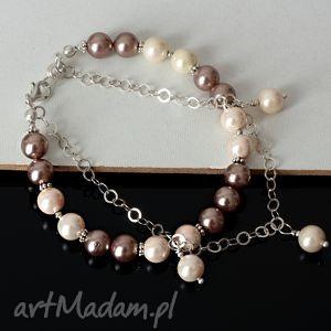 handmade pastelowe perły