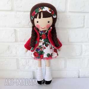 Prezent MALOWANA LALA ZOŚKA, lalka, zabawka, przytulanka, prezent, niespodzianka,