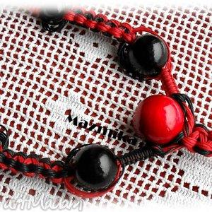 Ludum balls - ,makrama,sznurek,drewno,szyja,kobieta,
