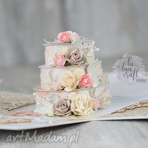 ręcznie wykonane ślub ślubny exploding box - pudełko eksplodujące