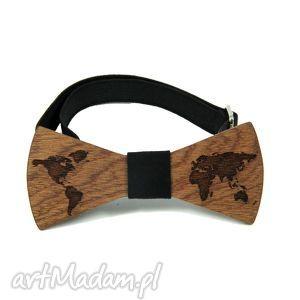 muszka drewniana, mucha, muszka, drewno, świat, mapa, prezent muchy i muszki