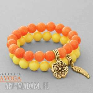 Orange o,kwiatek,