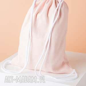Worek / Plecak AKC02R, worek, plecak, torba, bawełna