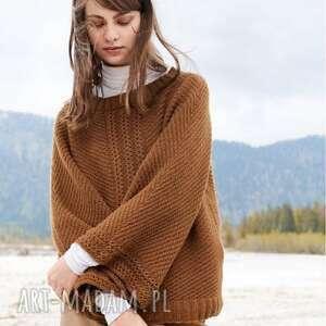 sweter ronneby, prezent, luksusowy, oryginalny, miękki, dziergany