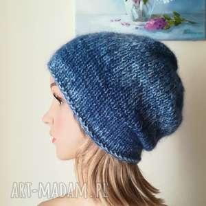 Chmurka czapka z jedwabiem czapki buenaartis rękodzieło, zima