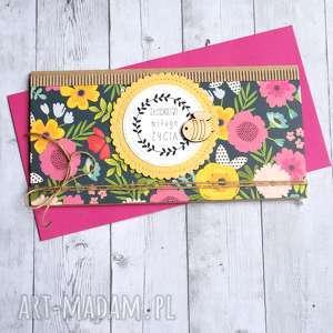 hand-made kartki kartka kopertówka - słodkiego miłego życia