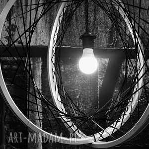 Prezent Lampa wisząca Globe, lampa, żyrandol, rower, prezent, loft, industrialna