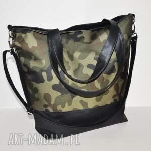 na ramię torba hobo xl - print moro, hobo, ramię, print, wegańska