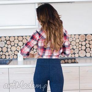 spodnie sportowe damskie rurki legginsy na fitness, redmasterclothes