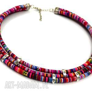 naszyjnik boho masayas simple, naszyjnik, etniczny, boho, masajka naszyjniki