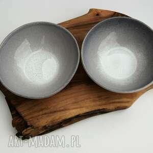 hand made ceramika dwie ceramiczne miseczki