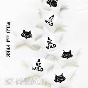 BE WILD - girlanda LIS, girlanda, gwiazdki, lis, fox, gwiazdka