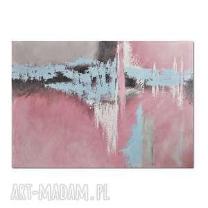salmagundi iii, abstrakcja, obraz ręcznie malowany, obraz, ręcznie, malowany