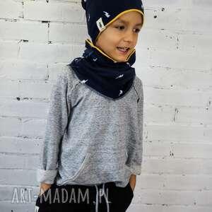 Prezent KOMPLET czapka & komin PIORUNY, dziecko, komplet, prezent, czapka,