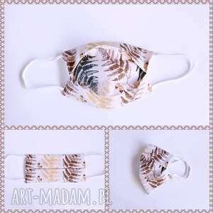 maseczki maseczka bawełniana, dwuwarstwowa z drucikiem i miejscem na filtr