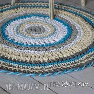 Prezent sznurkowy dywan, dladziecka, dywanik, prezent, dodomu, sznurek