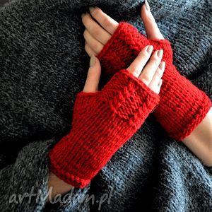ręcznie robione rękawiczki walentynkowe rękawiczki