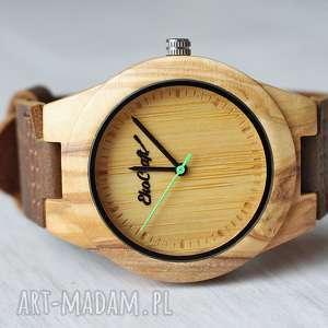 damski drewniany zegarek jay green, zegarek, drewniany, damski, bambusowy