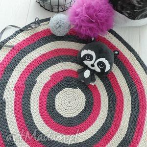 dywan do pokoju dziewczynki srednica 130 cm, dywan, dziewczynki, eco, różowy