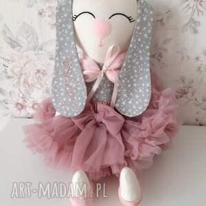 jagoda króliczek z personalizacją, króliczek, maskotki, przytulanka, baletnica