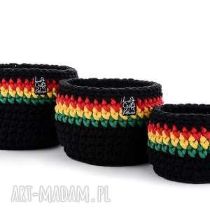 laczapakabra komplet koszyków rasta, kosz, koszyki, prezent, reggae