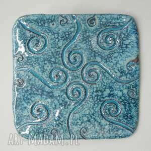 ceramika podstawka orientalna, dekoracja, podstawka, wnętrze, prezent, świece