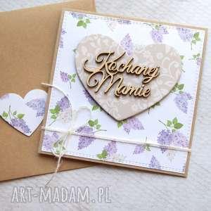 kartki dla mamy kartka handmade bzy, mama, mamy, dzień matki