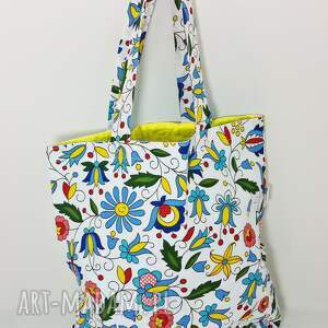 Torba na zakupy ekologiczna Shopperka kaszubska, torba, torba-na-zakupy, shopperka
