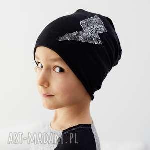 czapka piorun, czapka, dziecko, wiosna, cekiny, wygodna