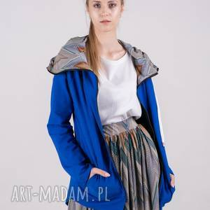 Bluza damska na zamek summer-me-chabrowa wzór bluzy trzyforu