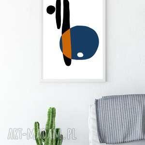 Plakat skandynawski minimalistyczny abstrakcja plakaty myscandi