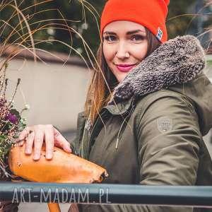 mechaniczna pomarańcza long, jesień, zima, czapka, beanie