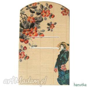 Japońska - deseczka pod kalendarz dom hanutka prezent, kalendarz