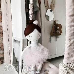 lalki timosimo - lalka ręcznie robiona melania xl rózowe dodatki