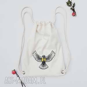 ręcznie wykonane plecaki wróbelek