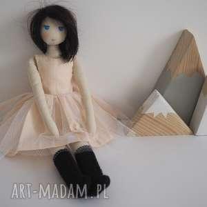 lalka #165, przytulanka, tiulowa, personalizowana, szmacianka, naturalna
