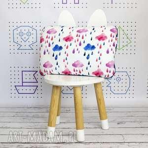 handmade dla dziecka poduszka chmurki
