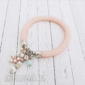 ilovehandmade bella, bransoletka, beading, beadwork, beadcrochet, koralikowa