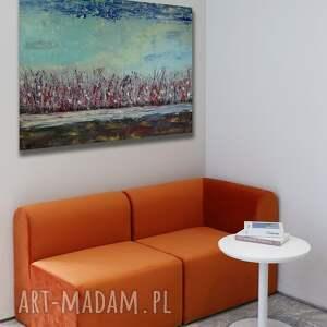 widok 8, abstrakcja, pejzaż, sztuka, obrazdosalonu, obraznasprzedaż, malarstwo
