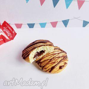 ciasteczka - magnes na lodówkę, ciastko, fimo, słodycze, modelina, zabawne dom