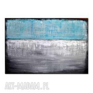 Abstrakcja ts1, nowoczesny obraz ręcznie malowany aleksandrab
